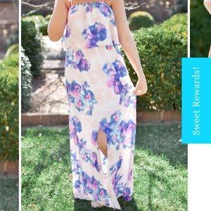 Shop Buddy Love strapless Maxi dress